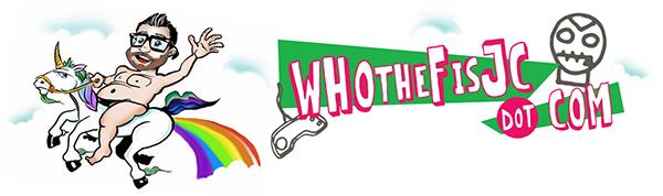 @WhotheF**isJC Logo