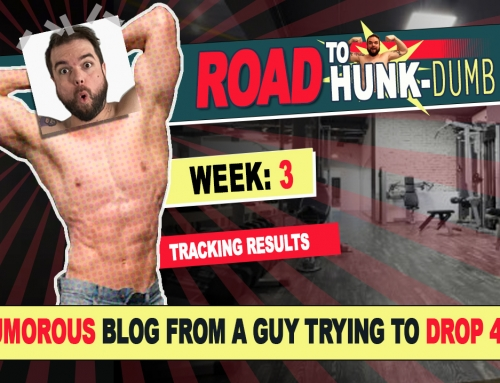 The Road to HUNK-Dumb: Week Three – Tracking Results