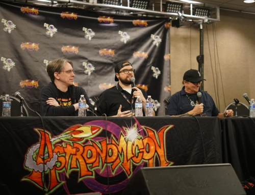 Moderate Panel with TMNT's Kevin Eastman at Astronomicon