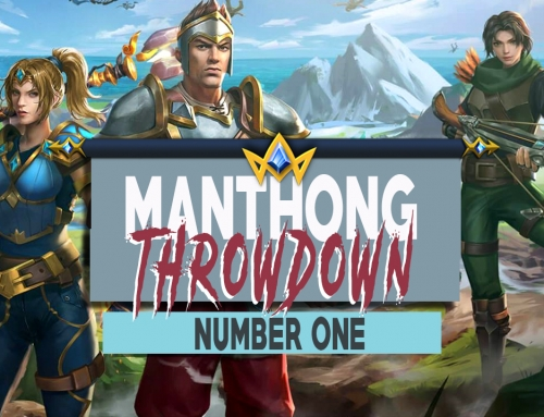 THE VERY FIRST MANTHONG THROWDOWN