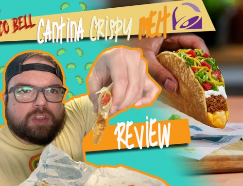 NEW Taco Bell Cantina Crispy Melt Taco Review