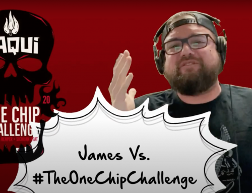 James Vs. The One Chip Challenge!