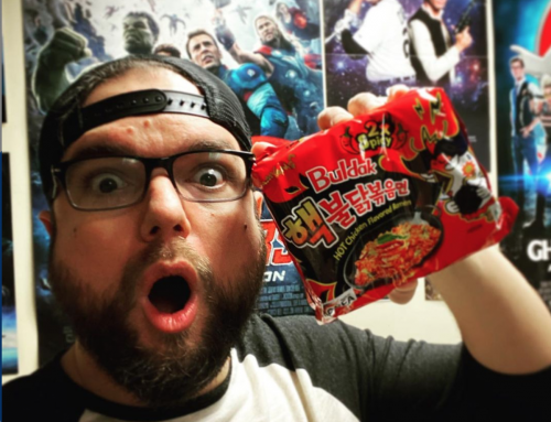 James VS. the EXTREME Spicy Noodle Challenge